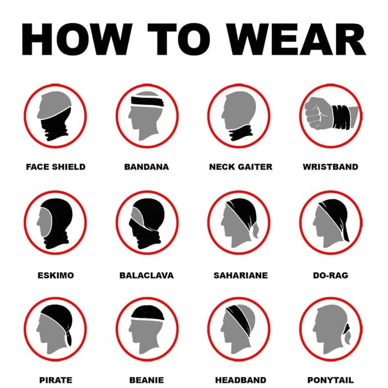 Ways-to-Wear-Unisex-Neck-Gaiter-with-Replaceable-Filter