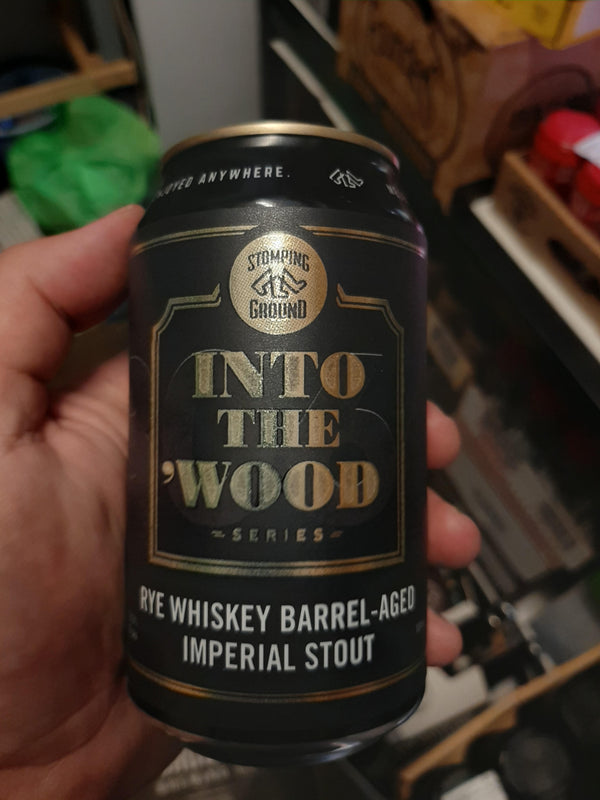 Stomping Ground - Into the Wood - Rye Whiskey Imperial Stout