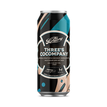 The Bruery - Three's Cocompany - Imperial Stout w/ Coconut and Vanilla Beans
