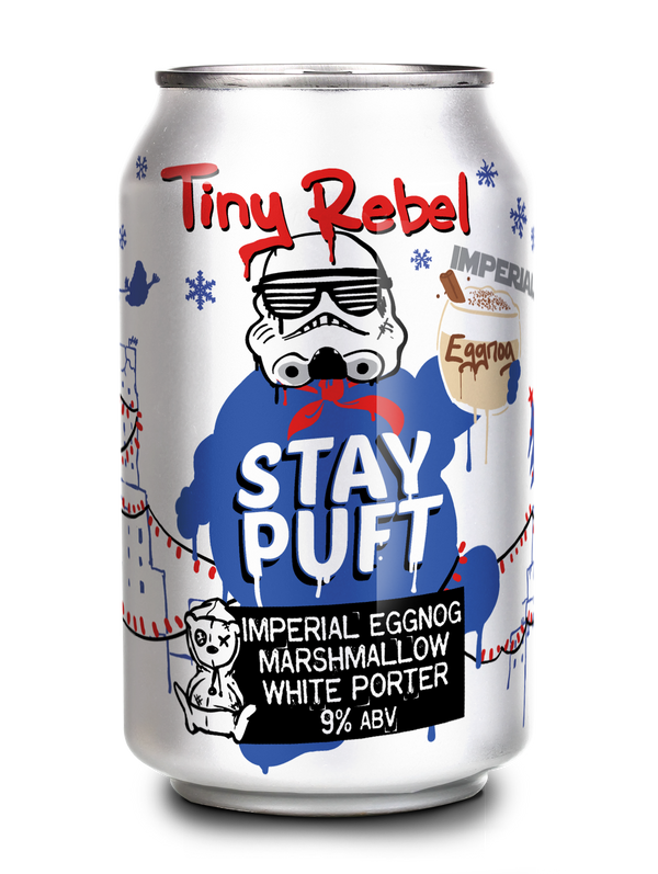 Tiny Rebel - Stay Puft - Imperial Eggnog Marshmallow White Porter