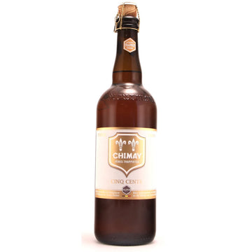 CHIMAY White Label Triple Cinq Cents 750mL