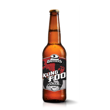 2 BROTHERS Kung Foo Rice Lager 330mL
