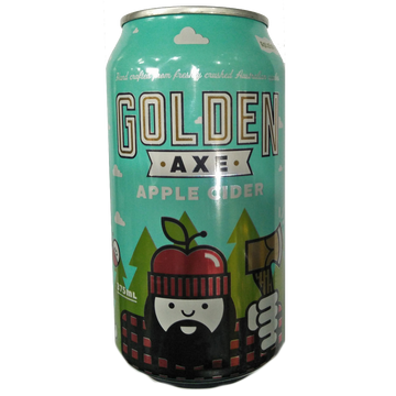 GOLDEN AXE Apple Cider Can 375mL