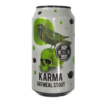 HOP NATION Karma Oatmeal Stout 5% Can 375mL