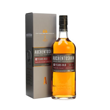 AUCHENTOSHAN 12 Year Old Single Malt 700mL