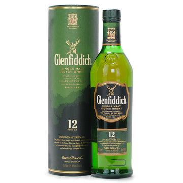 GLENFIDDICH Single Malt 12 YO 700mL