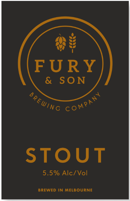 Fury & Son Stout CAN