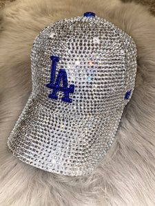 Encrusted Blinged Dad Cap (ANY TEAM)