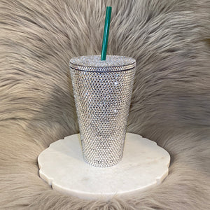 Encrusted Blinged Tumbler Cup 16oz.
