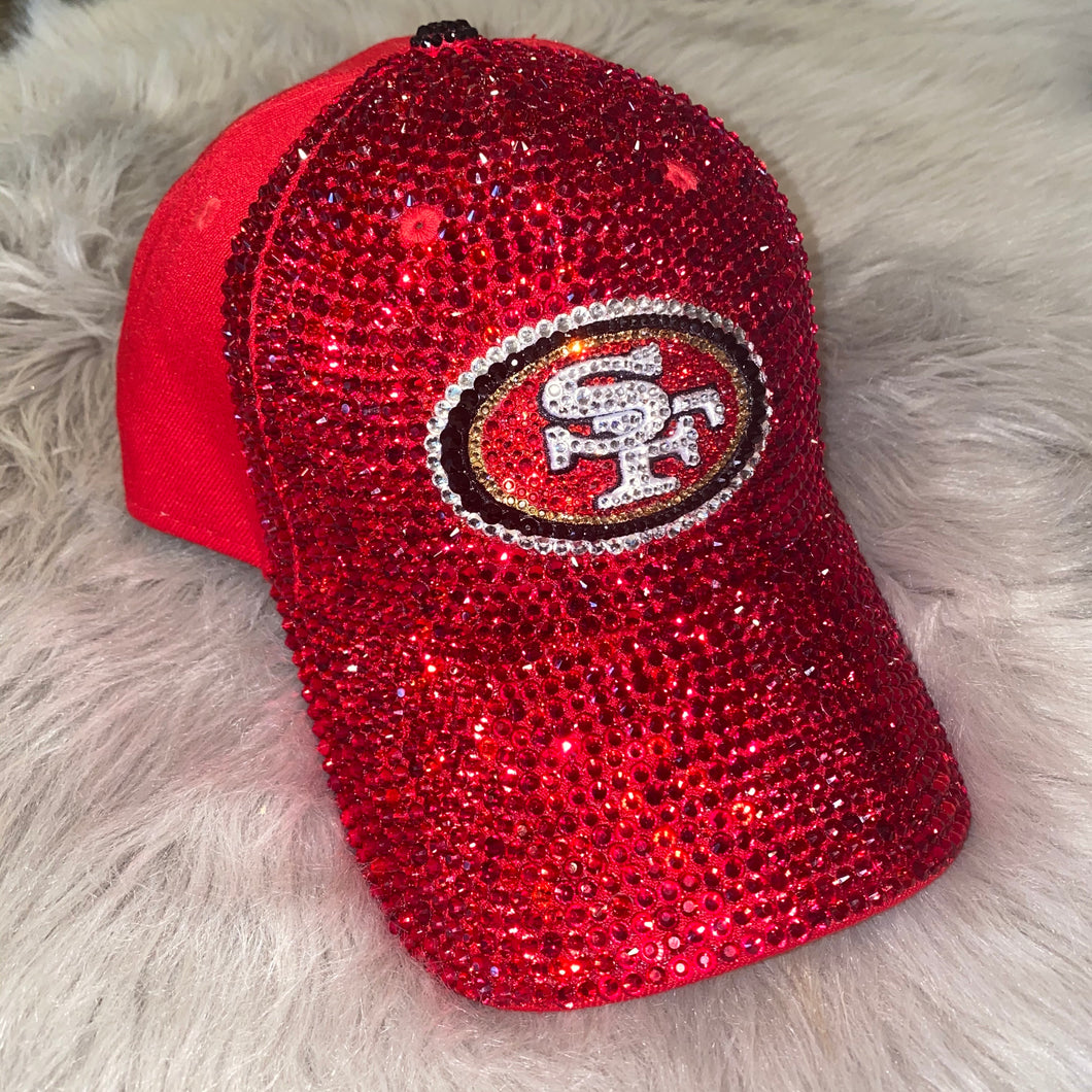Half Blinged Dad Cap (ANY TEAM)