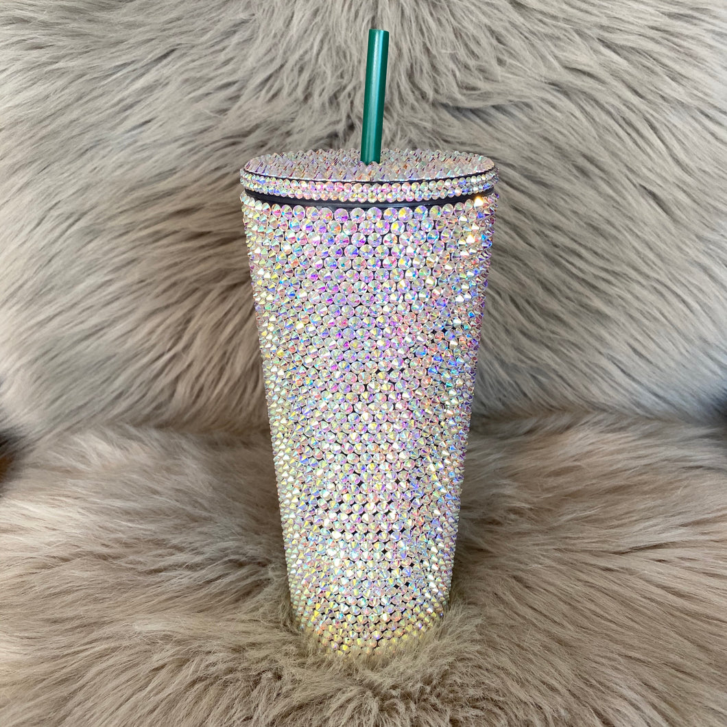 Encrusted Blinged Tumbler Cup 24oz.