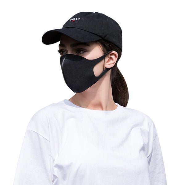 Dust Mouth Mask Breathable Unisex Sponge Face Mask Reusable Anti Pollution