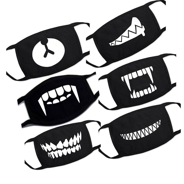 1PC Cartoon Lovely Cotton Mouth Face Masks Keep Warm Women Men