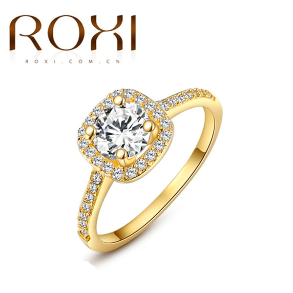 Women Anillos Fashion Jewelry Rings for Women White Rose Gold Color 2020 New Design Rings - 2tx1