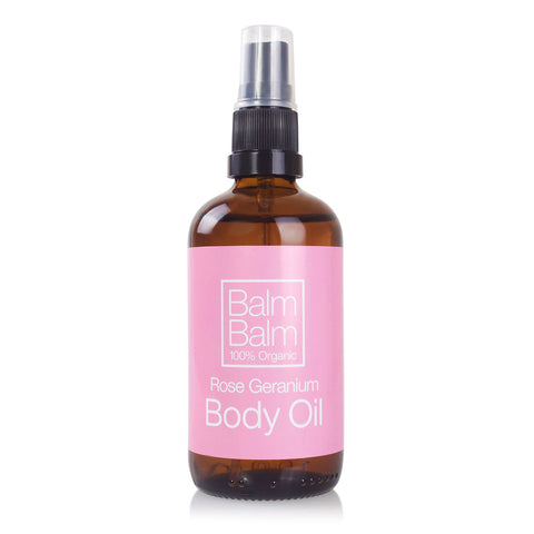 Rose Geranium Body Oil 100ml