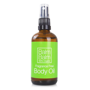 Fragrance Free Body Oil 100ml