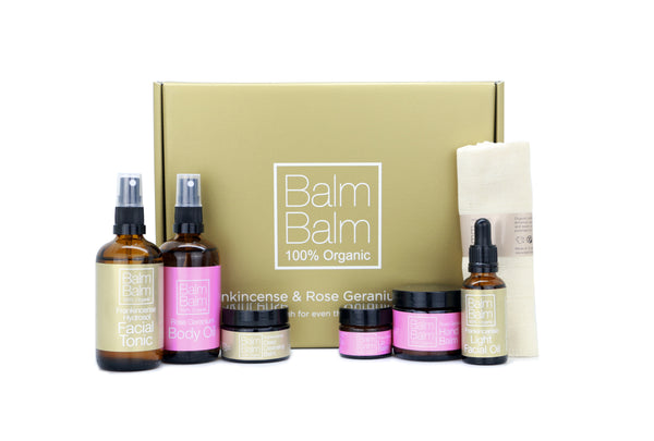 Frankincense & Rose Geranium Gift Set