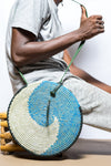 Round Leather Purse - Tackussanu Senegal
