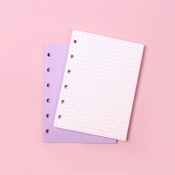 Mini refill grid note Purple