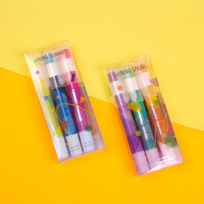 Shining gel stick 3set