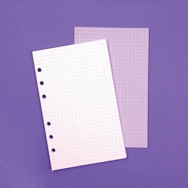 Archive refill Grid note purple