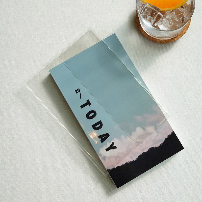 Today Mood Diary PVC Cover