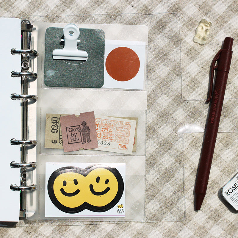 Archive diary pocket