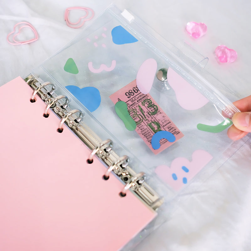 Archive JELLY zipper bag