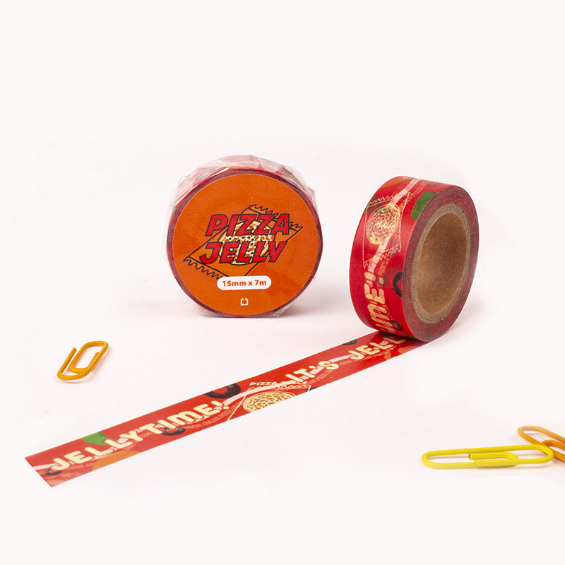 Snack Time masking tape