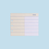Archive Refill Slim Planner Vocabulary