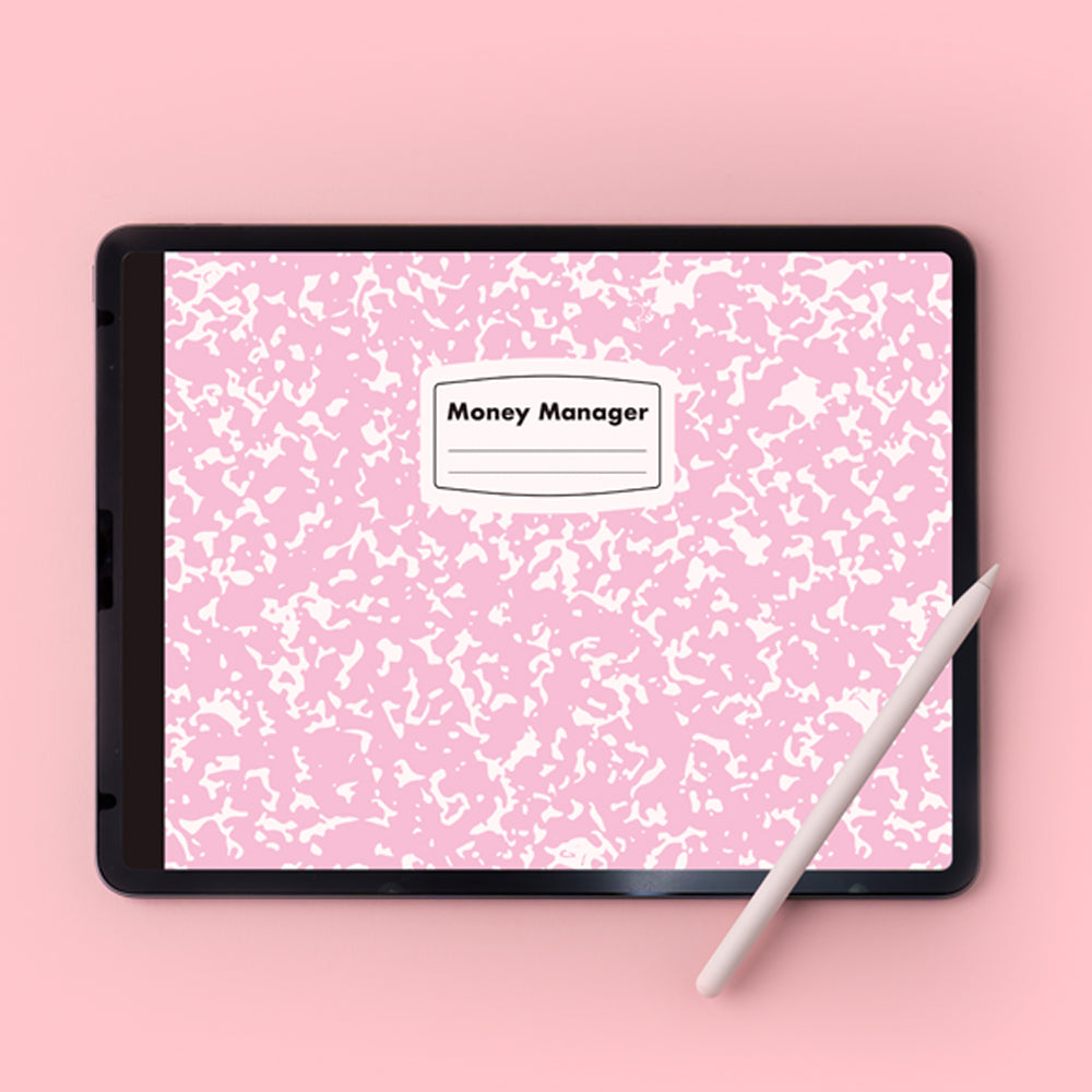 [Lucapad] 2021/Date Money Manager Goodnote Diary