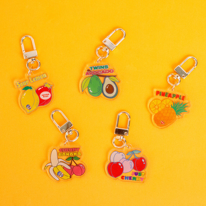 Fruits Holiday Key Ring