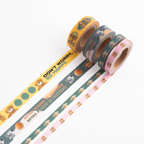 Retro picture Masking Tape