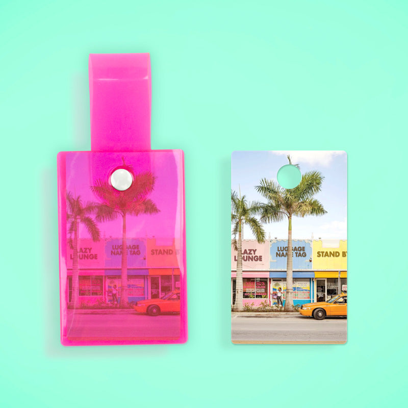 Summering Name Tag – Neon