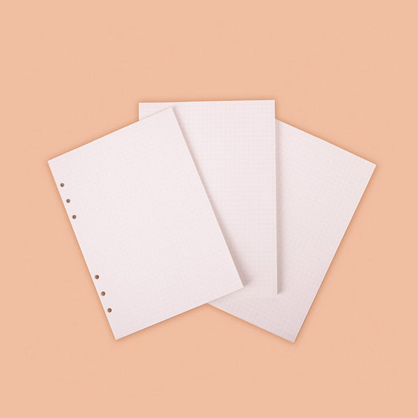 A5 refill jumbo grid note