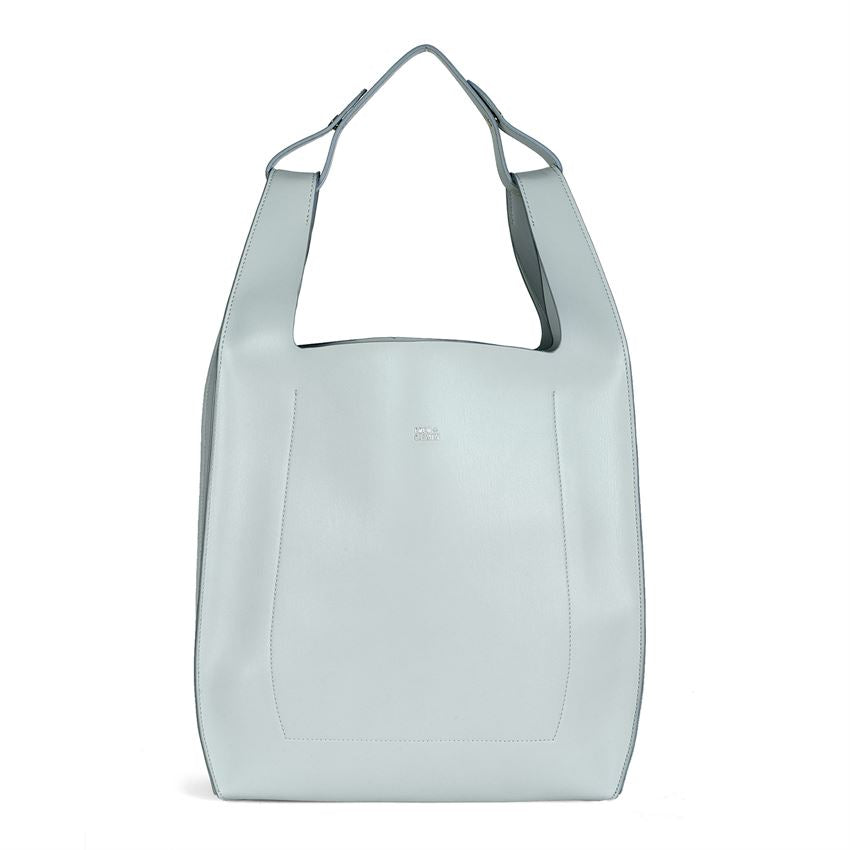 Italian Forward Tote - Light Blue