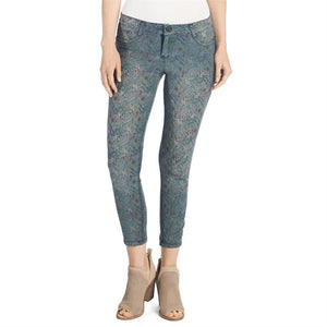 Reversible Jeans - Blue Ditsy Floral and Denim