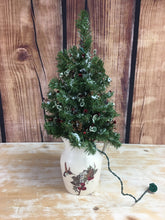 Load image into Gallery viewer, Christmas Tree - Large Bird Pitcher w Lights