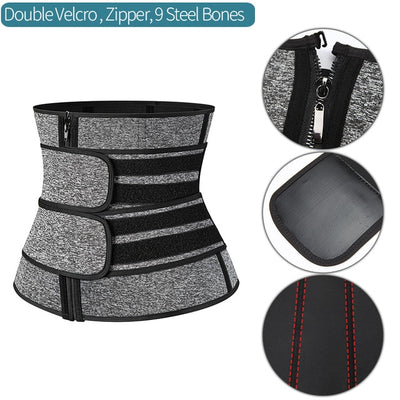 Waist Fat Buster and Ab-Trainer Belt