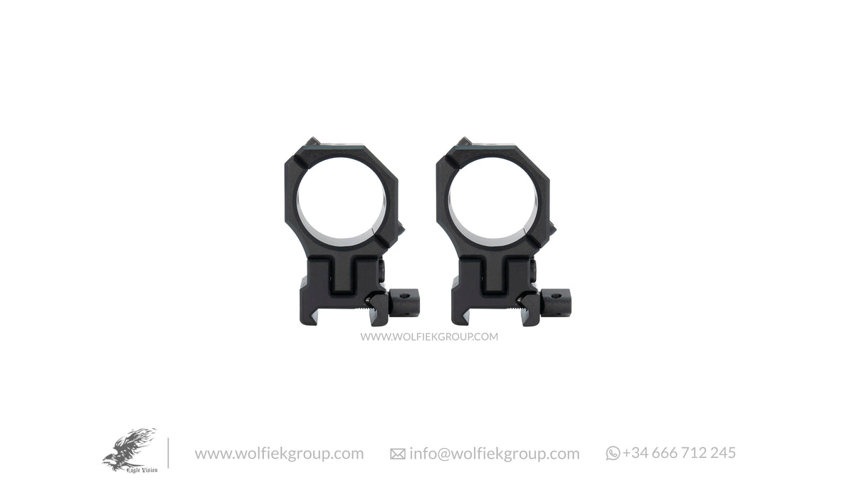 Infinity Elevation Ajustable Scope Mount Ring Picatinny INS 30mm 34mm