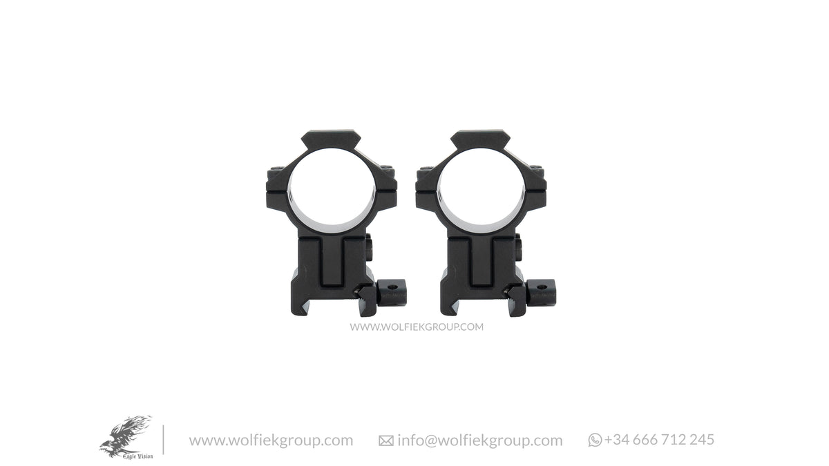 Infinity Elevation Ajustable Scope Mount Ring Picatinny IPS 30mm 34mm