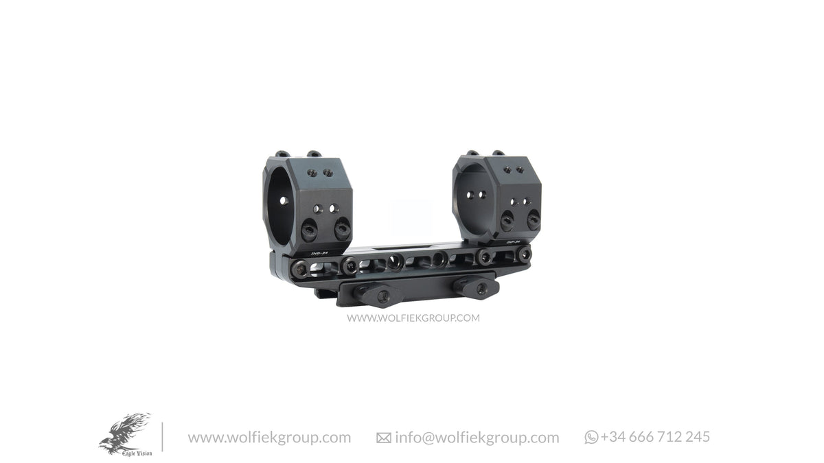 One Piece Infinity Elevation Adjustable Scope Mount Picatinny 30mm 34mm