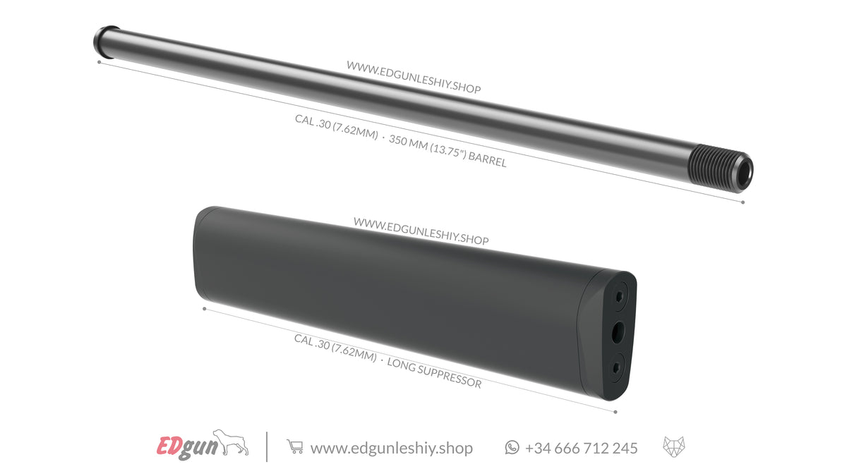 "KIT 350 MM (13.75"") BARREL LESHIY 2"