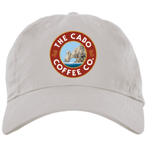 BX001 Brushed Twill Unstructured Dad Cap - Cabo Coffee