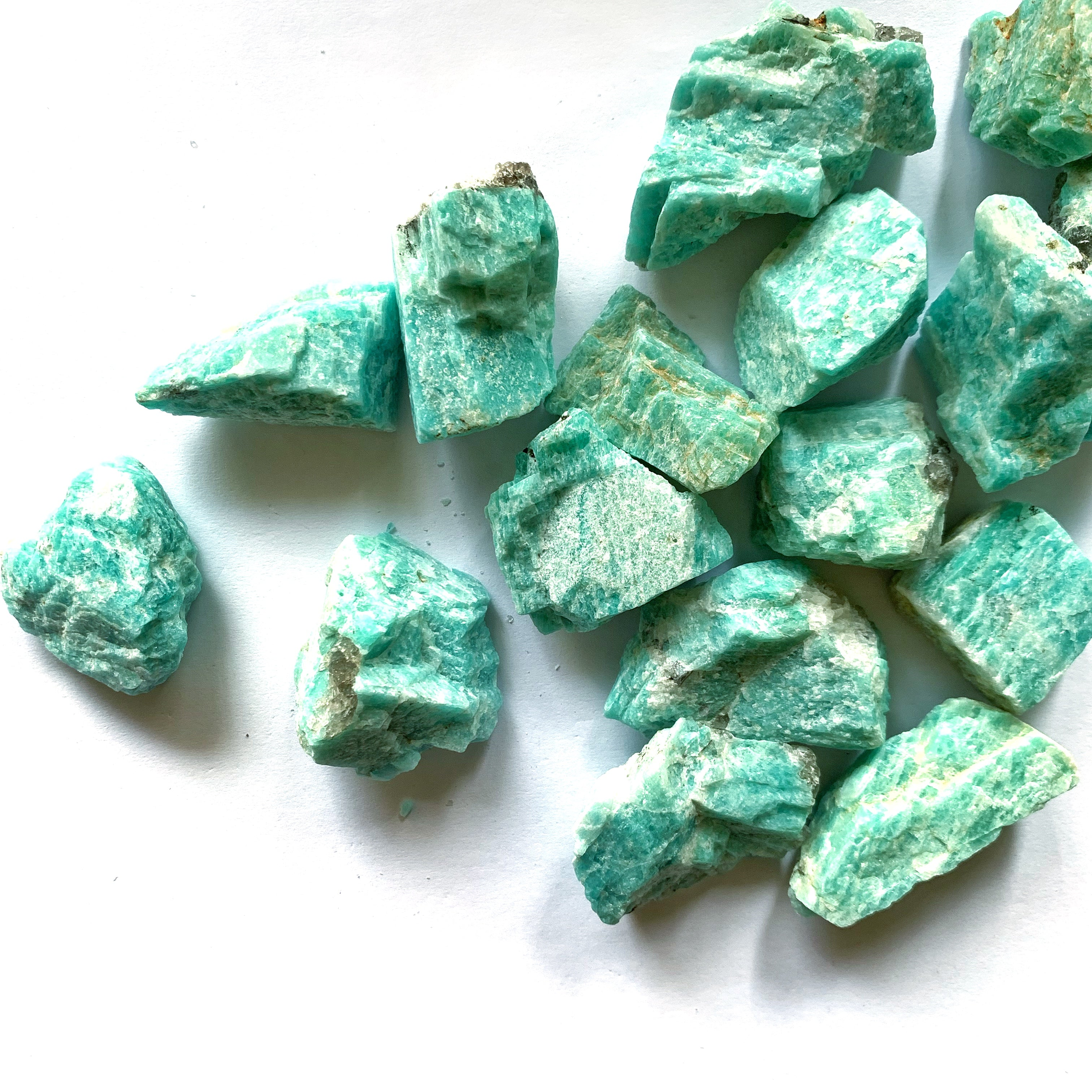 Amazonite Rough- Small - Thecrystalproject
