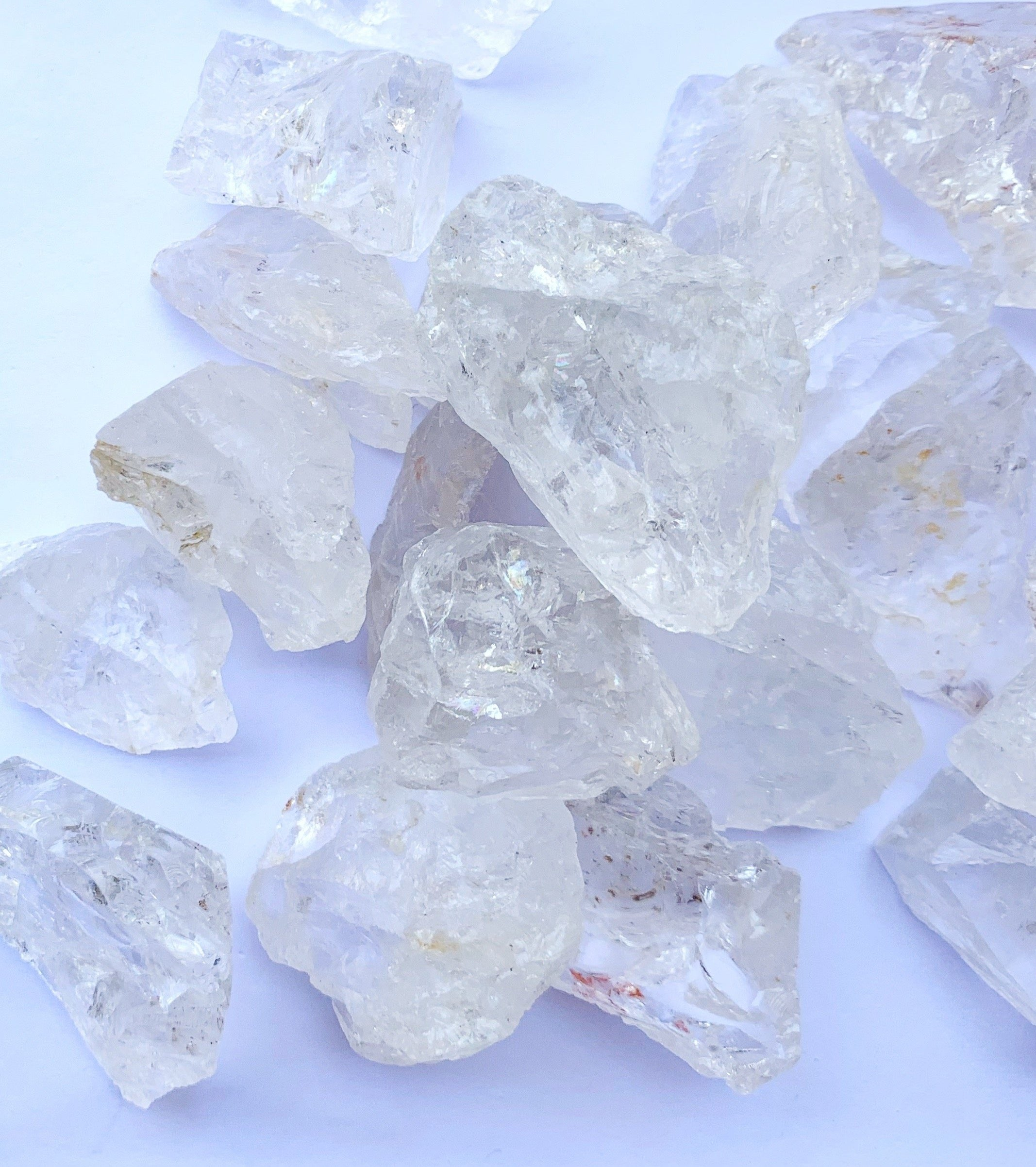 Clear Quartz Rough- Small - Thecrystalproject