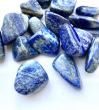 Lapis Lazuli Tumbled - Thecrystalproject