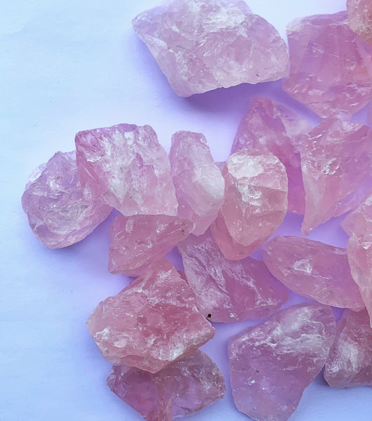Rose Quartz Rough- Small - Thecrystalproject