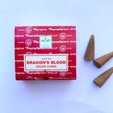 Dhoop Cones- Satya Dragon's Blood - Thecrystalproject