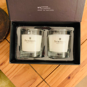 No.6 Leather & Oakmoss Gift Set